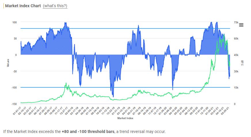 Crypto-ML Market Index 2021