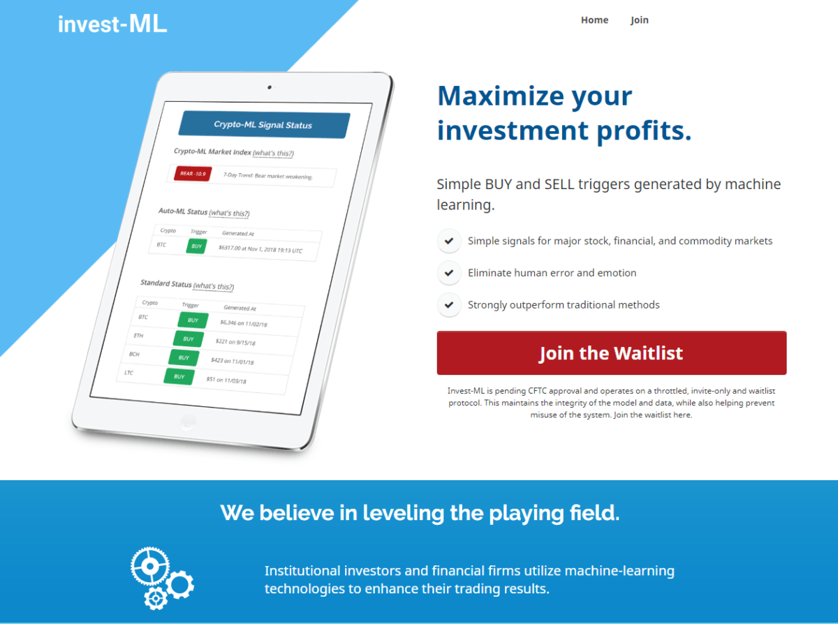 Invest-ML Overview