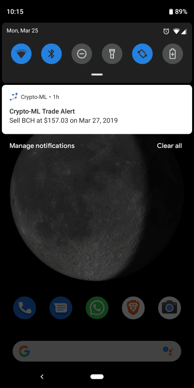 Crypto-ML Mobile App Preview