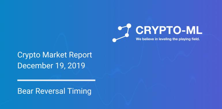Crypto-ML Market Report December 19 2019