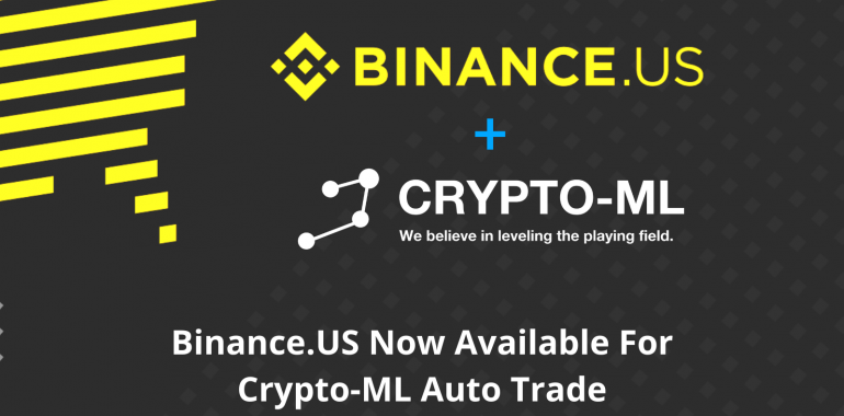 Binance.US Now Available for Crypto-ML Auto Trade