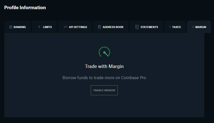 Reply To: Coinbase Pro Relaunches Margin Trading 1