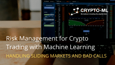 Risk Management for Crypto Trading with Machine Learning